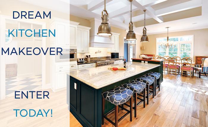 Dream kitchen makeover Wellborn Cabinets
