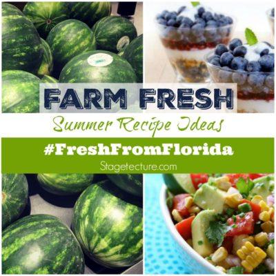 Farm Fresh: Why I Love Making Recipes Using #FreshFromFlorida Foods
