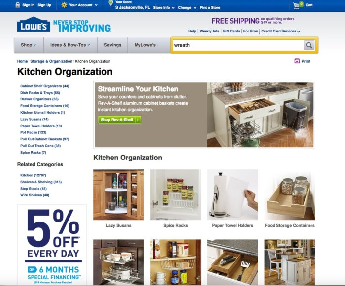 Lowes Giving Assistant Kitchen