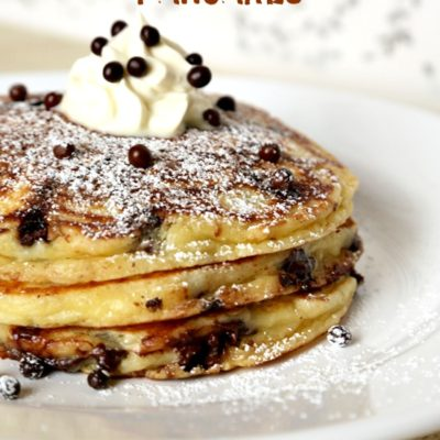 Easy Brunch Recipes: Mini Chocolate Chip Pancakes
