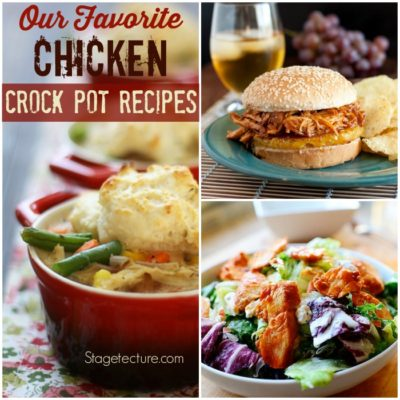 Crockpot Recipes: Our Favorite Chicken Dinners