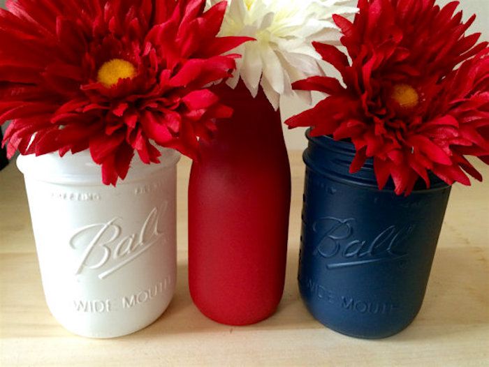 4th of July mason jars ideas