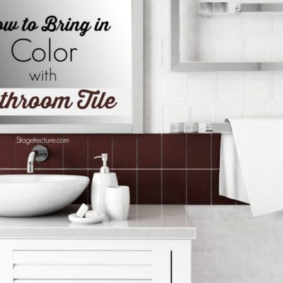 Bathroom Tile Ideas to Bring in More Color