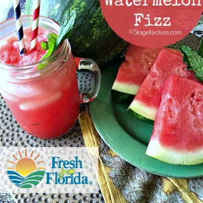 Fresh Fruit Recipe: #FreshFromFlorida Watermelon Fizz