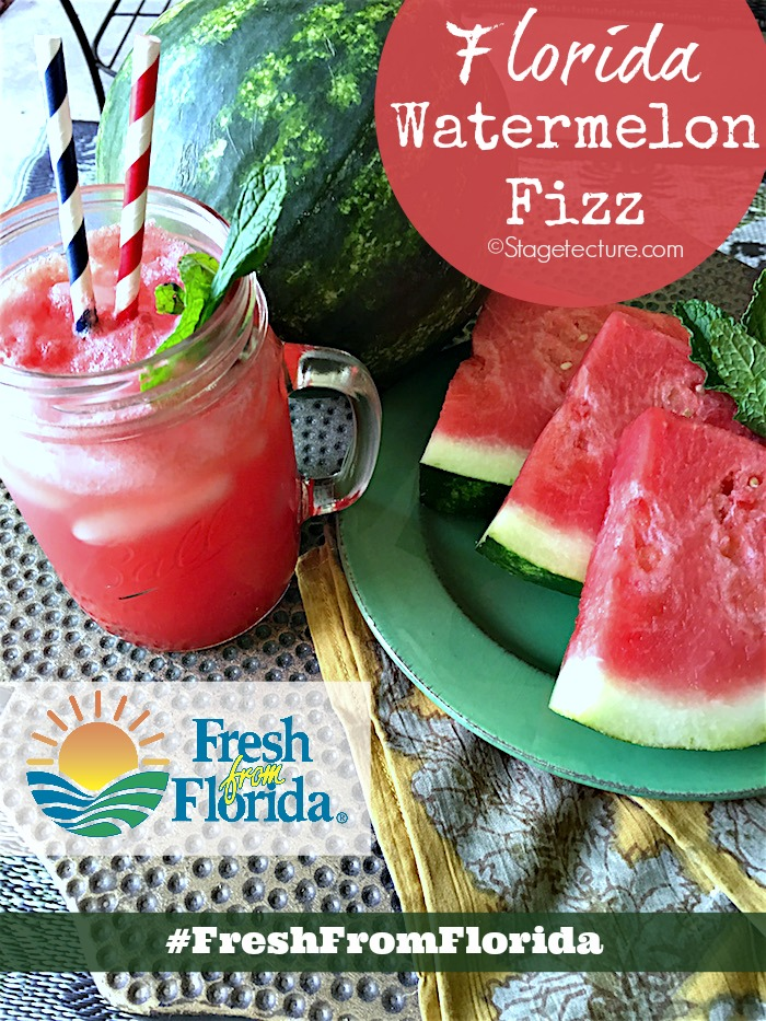 Fresh From Florida_Watermelon Fizz Recipe Patio