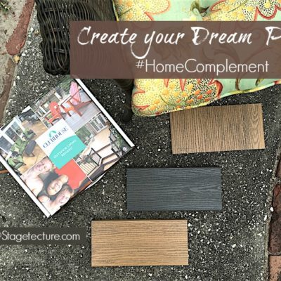 Creative Deck Ideas: #HomeComplement Creates your Dream Patio