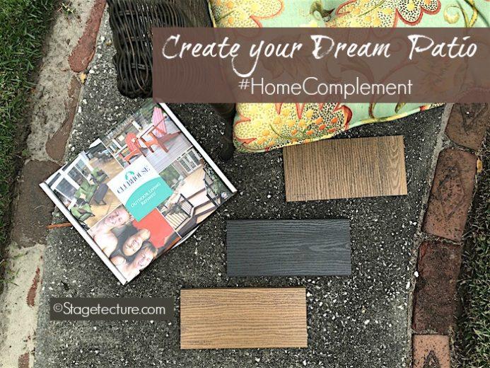Creative Deck Ideas: #HomeComplement Creates your Dream Patio