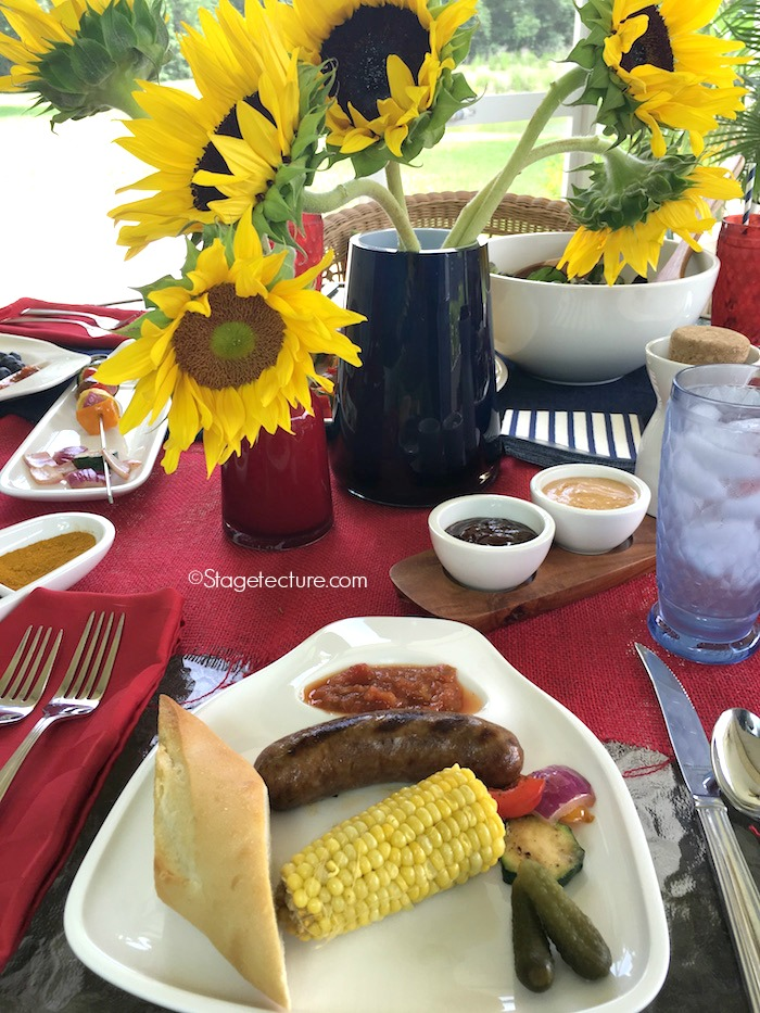Villeroy and Boch_4th of July BBQ steak plate