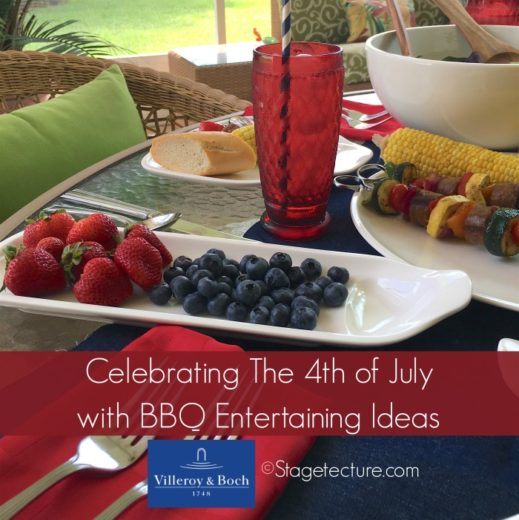 My 4th Of July BBQ Entertaining Ideas with Villeroy and Boch