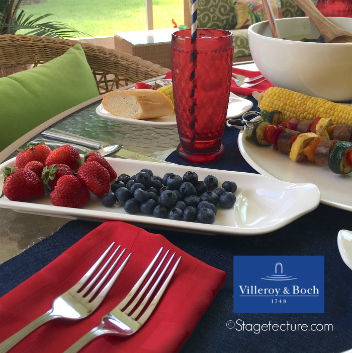 Villeroy and Boch_4th of July BBQ_fruit tray FB ntext