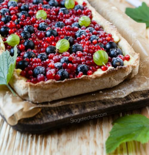 4th of July Dessert: Patriotic Berry Pie Recipe
