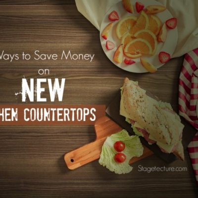 4 Ways to Save Money On New Kitchen Countertops