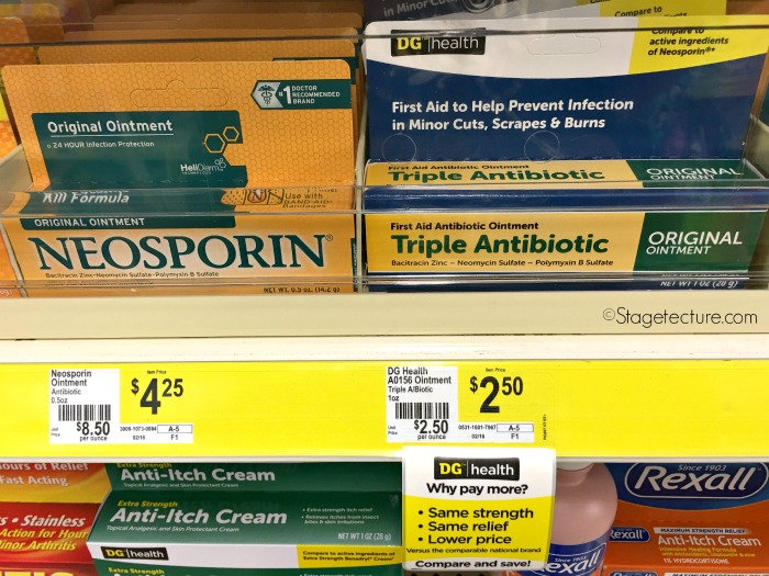 back to school savings dollar general health ointment