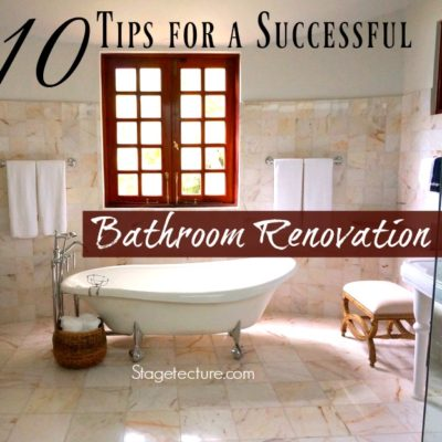 10 Tips for a Successful Bathroom Renovation