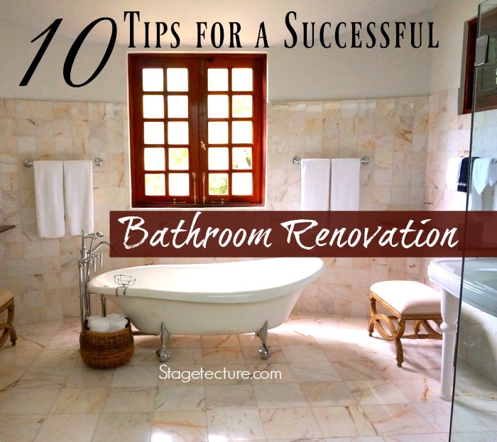 Cool  Tips for a Successful Bathroom Renovation