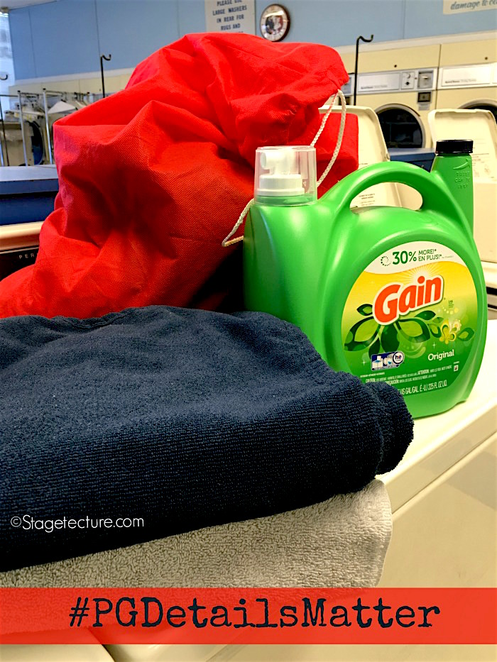 Back to School college laundry