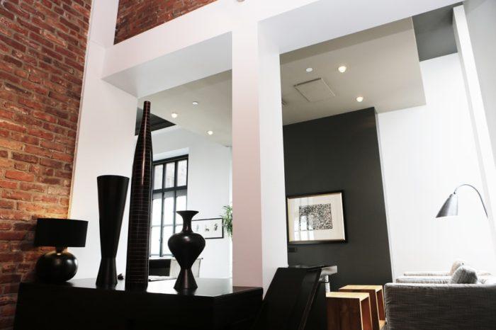 home decorating ideas black white
