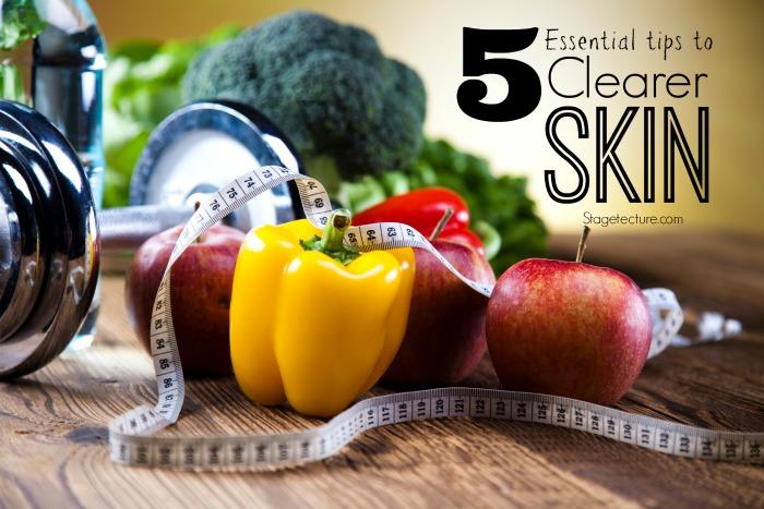 essential clearer skin tips