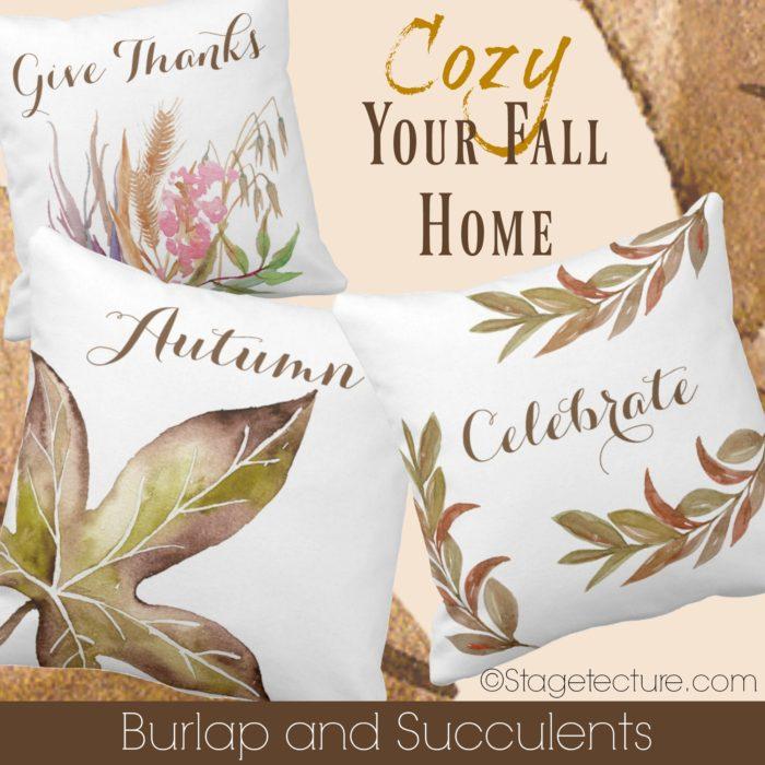 fall-pillows-burlap-and-succulents