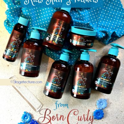 I Finally Found #Borncurly Organic Hair Products for Kids