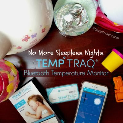 TempTraq® Bluetooth Thermometer: No More Kids' Sleepless Nights