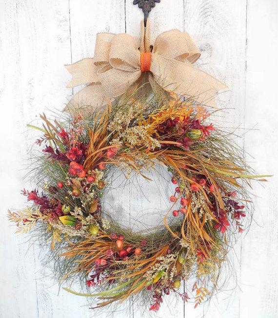 thanksgiving-wreath-rustic