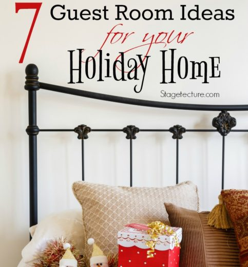 Holiday Bedroom:  Christmas Guest Room Ideas