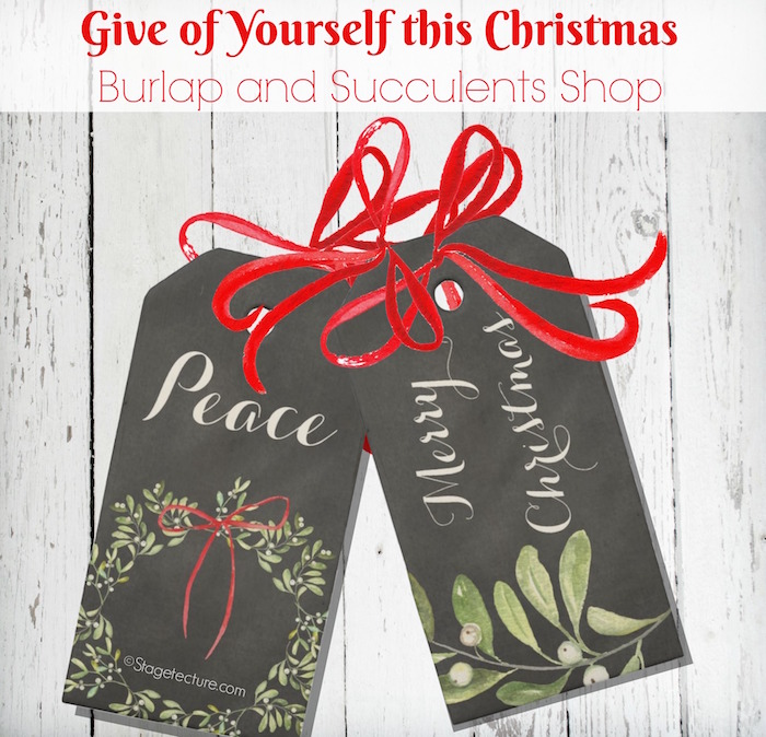 christmas entertaining gift tags