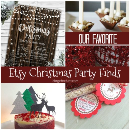 Christmas Party Ideas: Our Favorite Etsy Finds for your Guests