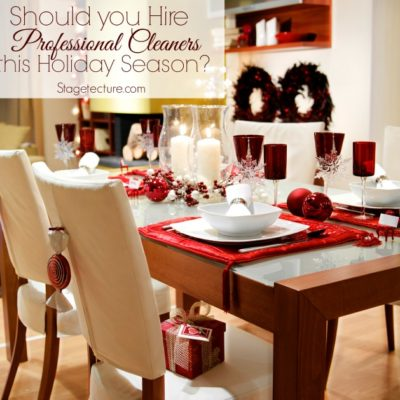 Should You Hire Professional Cleaning Services this Holiday Season?