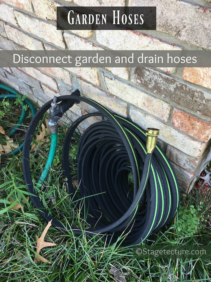 AHS Garden Hoses home maintenance checklist