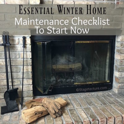 Essential Winter Home Maintenance Checklist Items to Start Now