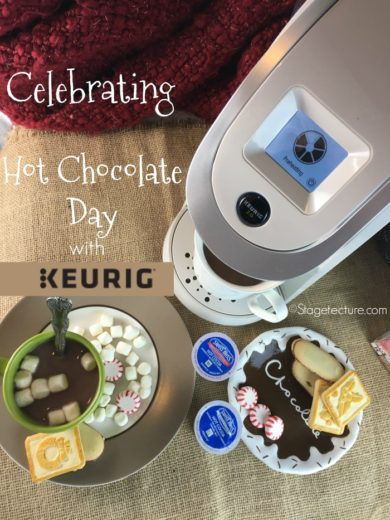 Celebrating Hot Chocolate Day with My Keurig® Coffee Maker