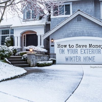 Essential Ways to Save Money on your Exterior Winter Home