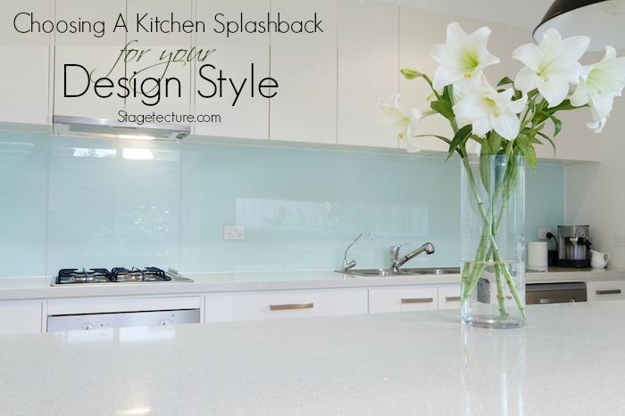 choosing kitchen splashback