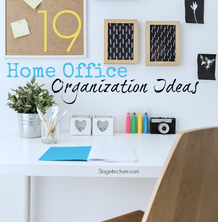 New year organizing tips for home office organization for Office organization tips and ideas