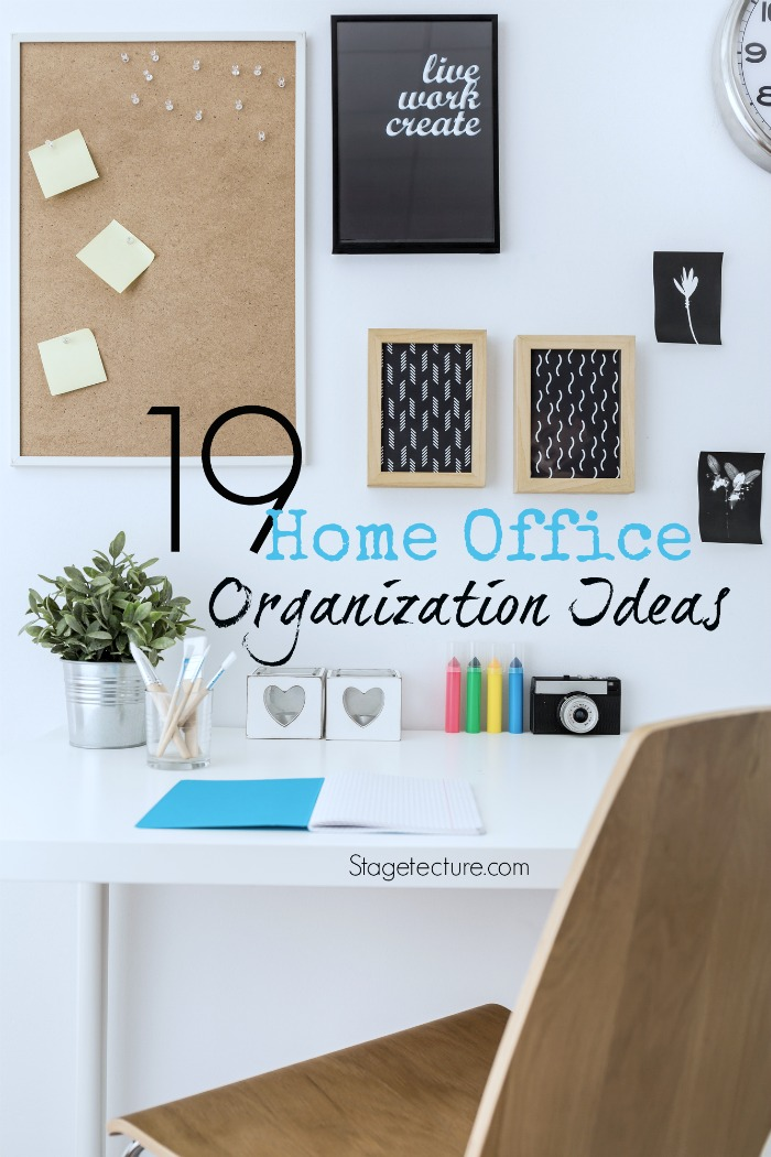 Adorable 25 office organization tips design ideas of top Home office organization ideas
