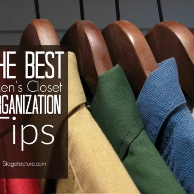Simple Tips for the Best Mens Closet Organization