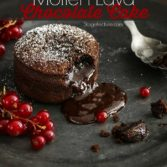 molten lava chocolate cake recipe