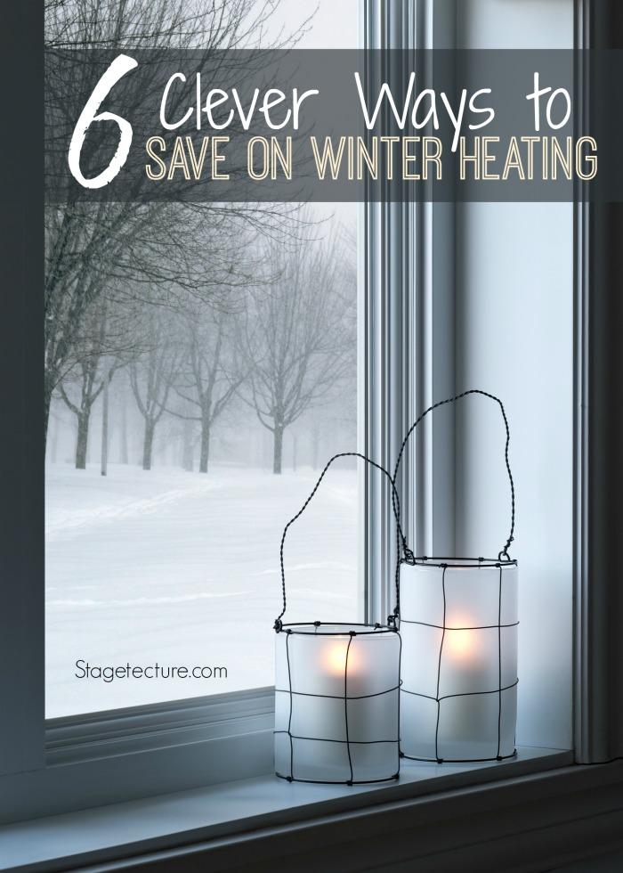 winter heating costs window