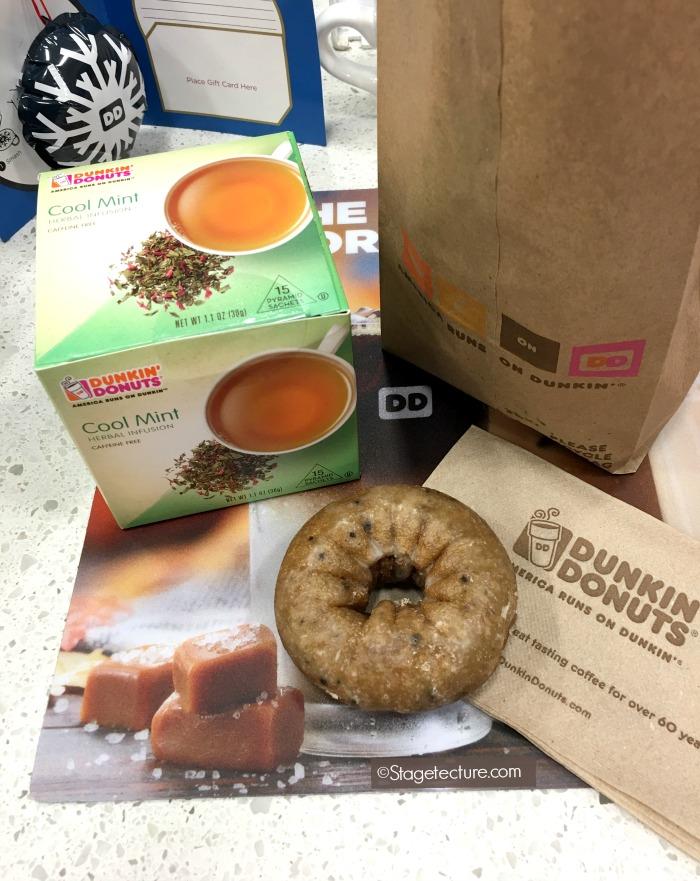 Dunkin Donuts hot tea flavors peppermint tea