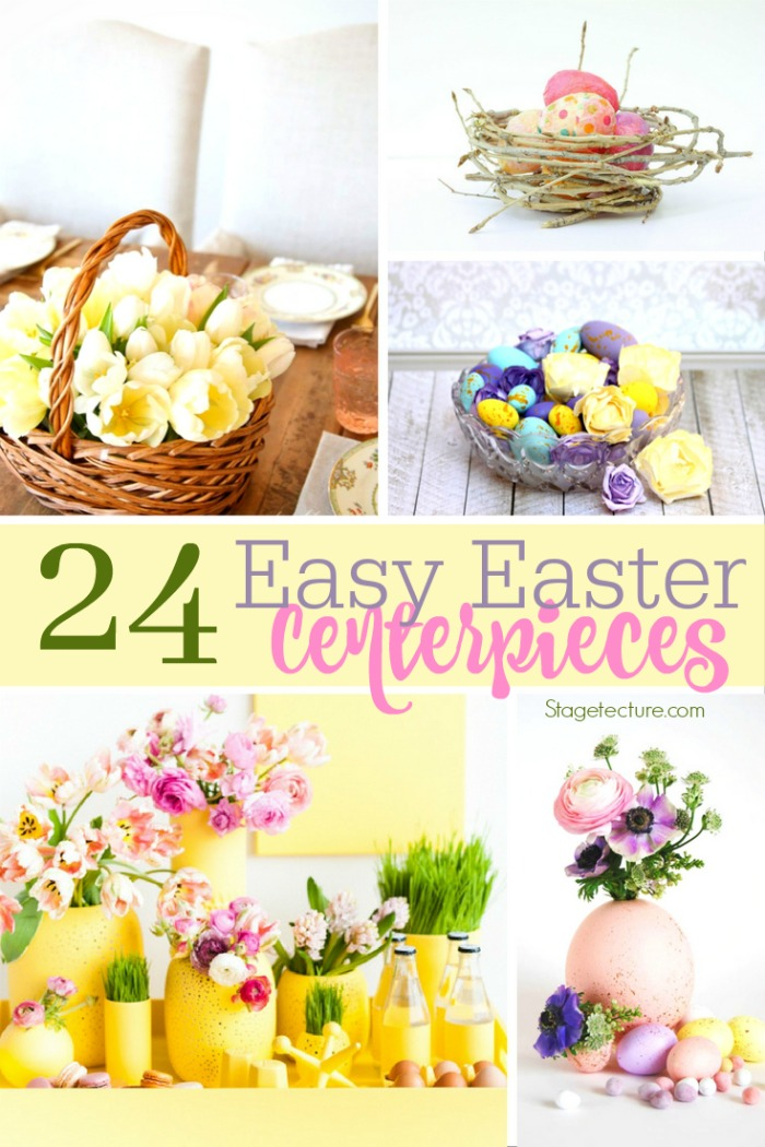 Easter centerpieces ideas