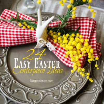 24 Easy Easter Centerpiece Ideas