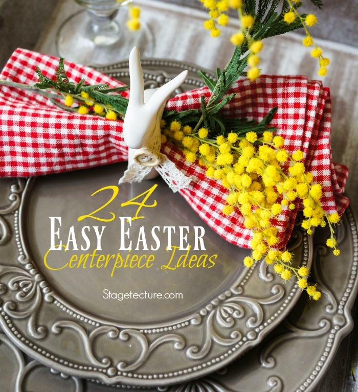 Easter Centerpiece Ideas Modern