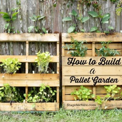 4 Steps to Beautiful Pallet Garden Ideas