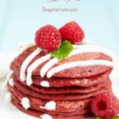 Breakfast in Bed: Valentine's Red Velvet Pancakes Recipe