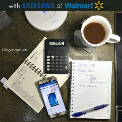 Excited About Income Tax Refund Season with Samsung at Walmart