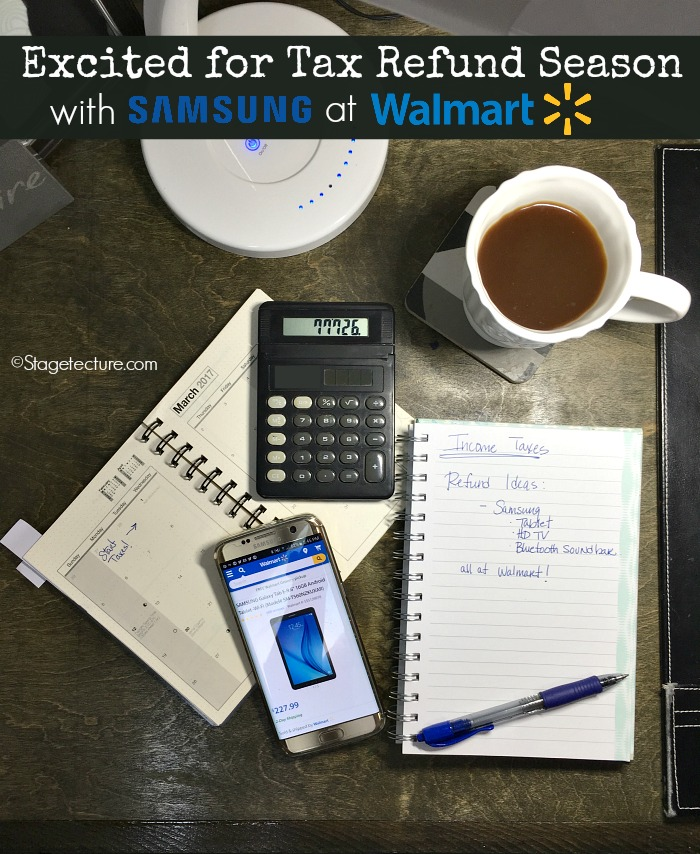 tax refund season samsung walmart