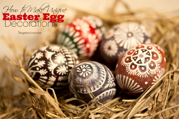 Unique Easter Egg Decorations Ideas