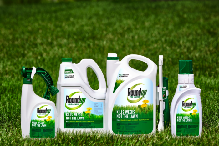 Roundup for lawns products